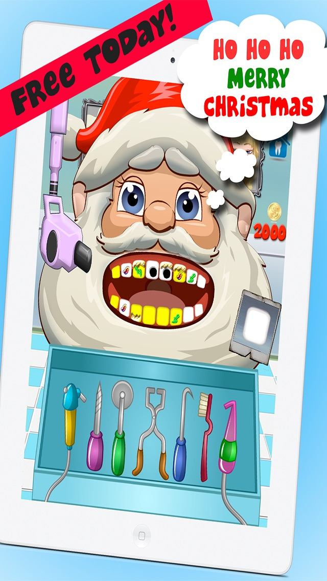 Christmas Dentist Office Salon Makeover Story – Fun Free Doctor Nurse Kids Games for Boys and Girls Cheat Codes