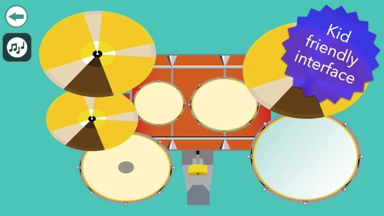 Musical Instruments for Babies - Simple music playing screenshot-2