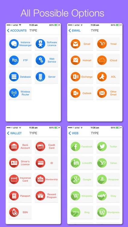 All in 1 Password Manager Lite & Secret Camera - Secure digital Wallet application to Hide Personal Data with Private Browser screenshot-3