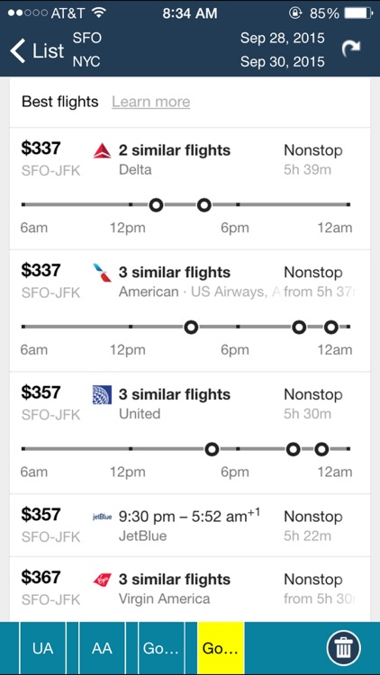 San Francisco Airport (SFO) Flight Tracker screenshot-4