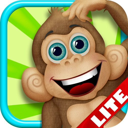 Safari Monkey Bubble Adventure LITE - FREE Kids Game ! icon