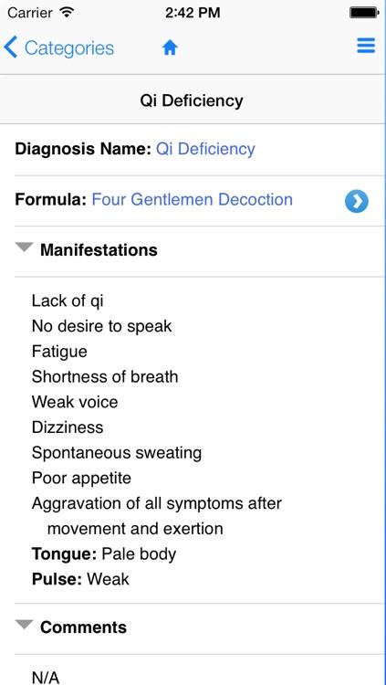 TCM Diagnosis Guide screenshot-3