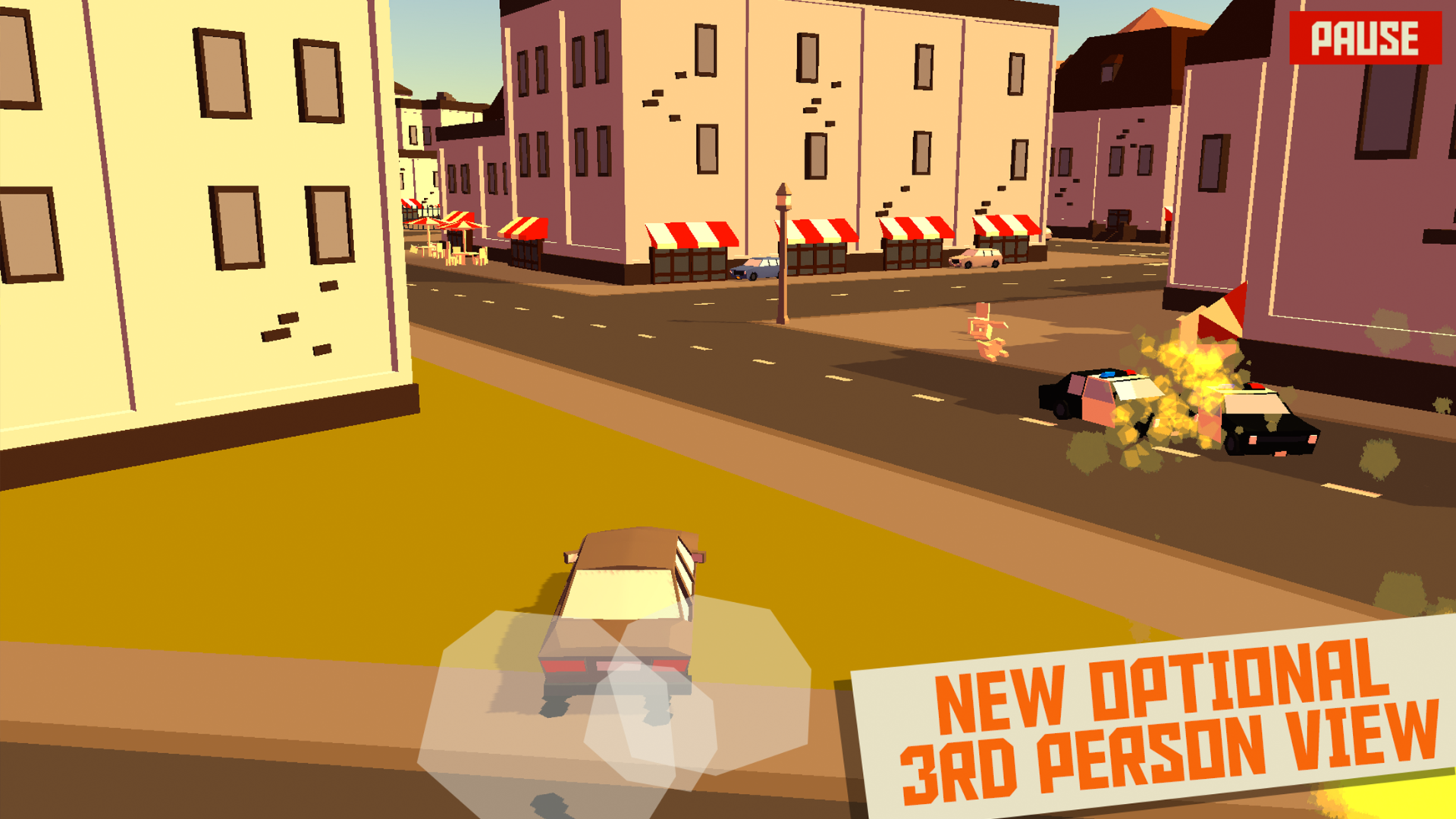 PAKO - Car Chase Simulator screenshot 12