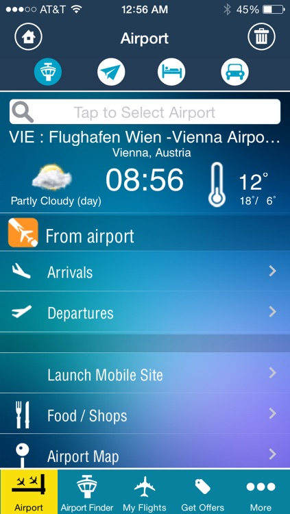 Vienna Airport + Flight Tracker Austrian VIE airlines screenshot-1