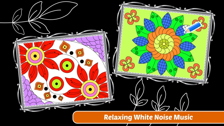 Enchanted Forest Art Class- Coloring Book for Adults with Stress Relieving Patterns screenshot-4