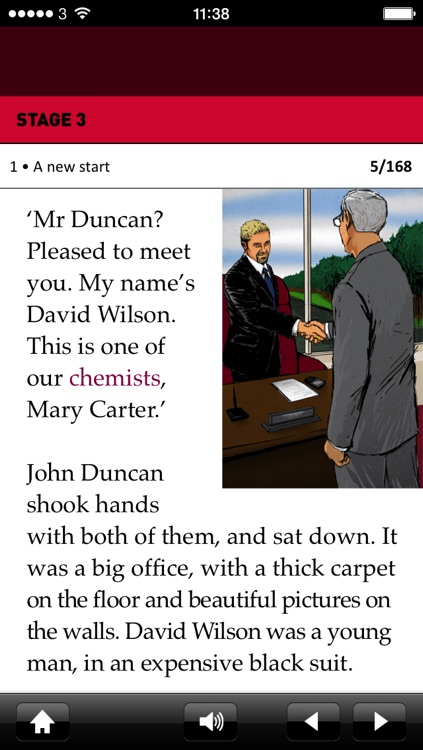 Chemical Secret: Oxford Bookworms Stage 3 Reader (for iPhone)