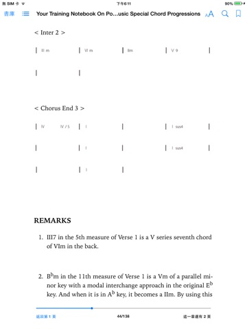 Your Training Notebook On Pop Music Special Chord Progressions By