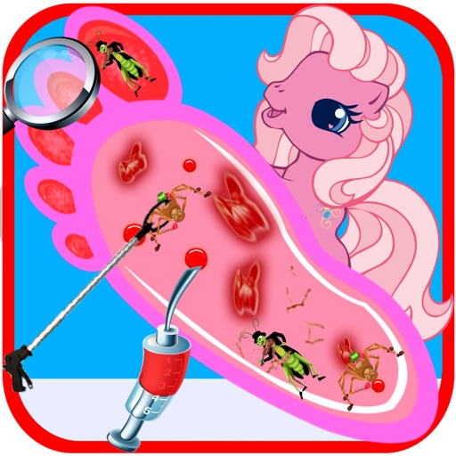 Pet Пони ног врач (доктор) - детские игры
