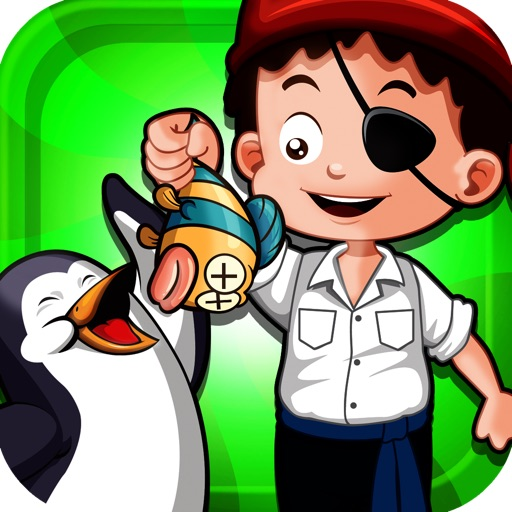 A Pirate Feeds A Penguin A Fish Pro Game Full Version icon