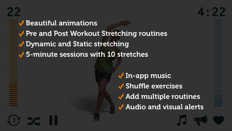 5-Minute Stretch - Dynamic and Static Stretching for Runners screenshot-3