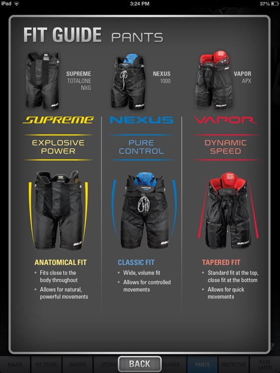 Bauer Gear Guide - English screenshot-3