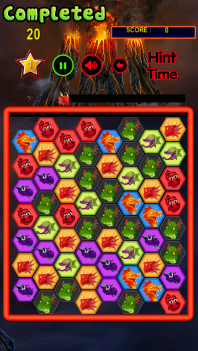 Plants vs. Dragon Monsters Matching Game : 植物対ドラゴン モンスターのおすすめ画像1