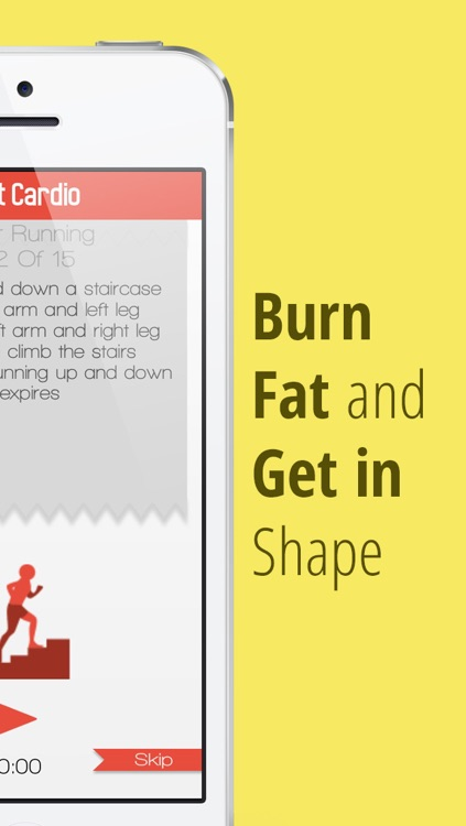 xFit Cardio – Daily Workout to Lose Belly Fat and Gain Endurance