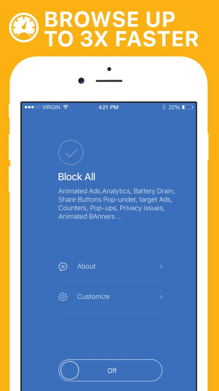AdBlocker - block Ads & Browse Faster - Online Game Hack and