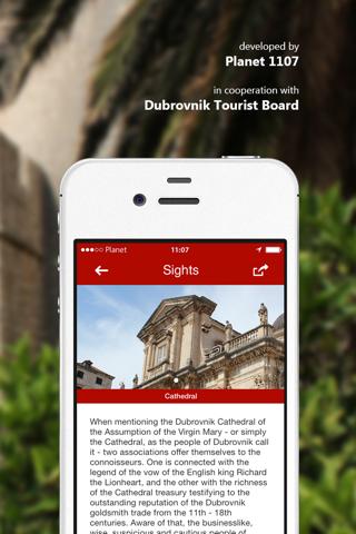 Dubrovnik AR screenshot 3