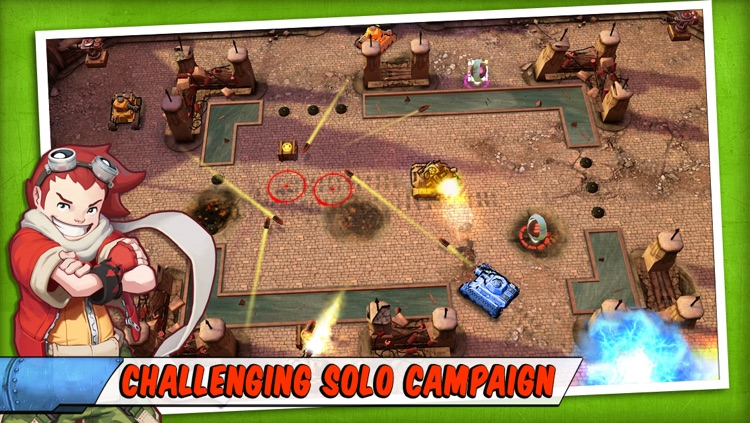 Tank Battles - Explosive Fun! screenshot-1