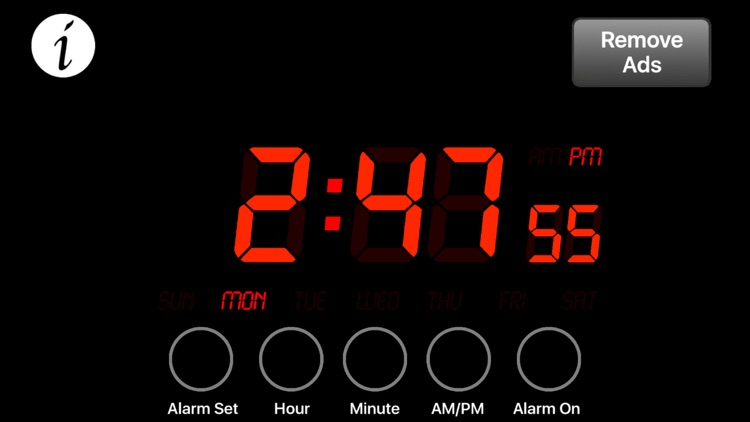Alarm Clock Free - Wake Up with This Easy to Use Alarm Clock for iPhone, iPad and iPod Touch! screenshot-3