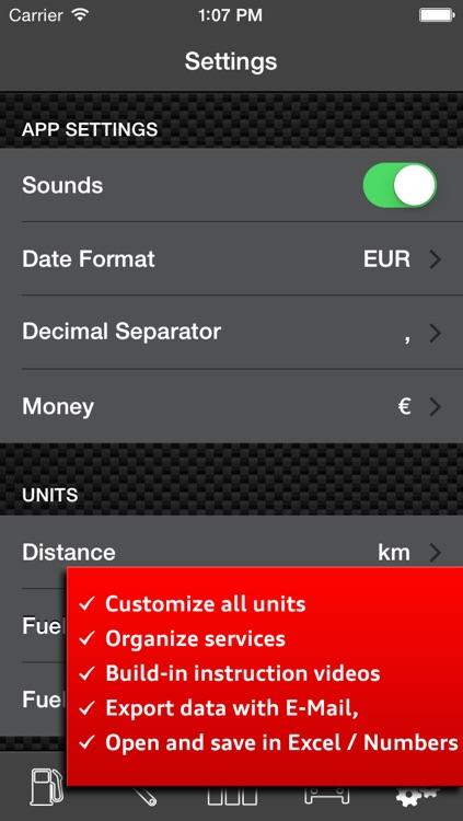 Car Log Ultimate Pro - Car Maintenance and Gas Log, Auto Care, Service Reminders screenshot-4