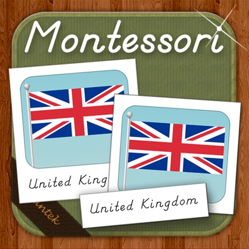 Montessori Card Matching - Flags Of Europe HD