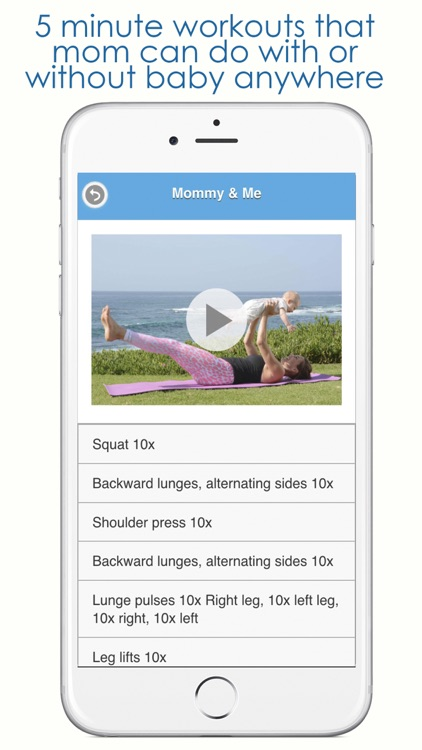 Mommy Workouts screenshot-0