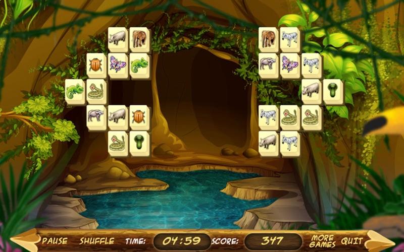 Wild Africa Mahjong screenshot 3