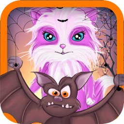 Cat's Escape from the Angry Witch ~ A Funny Interactive Free Game for the Hole Family