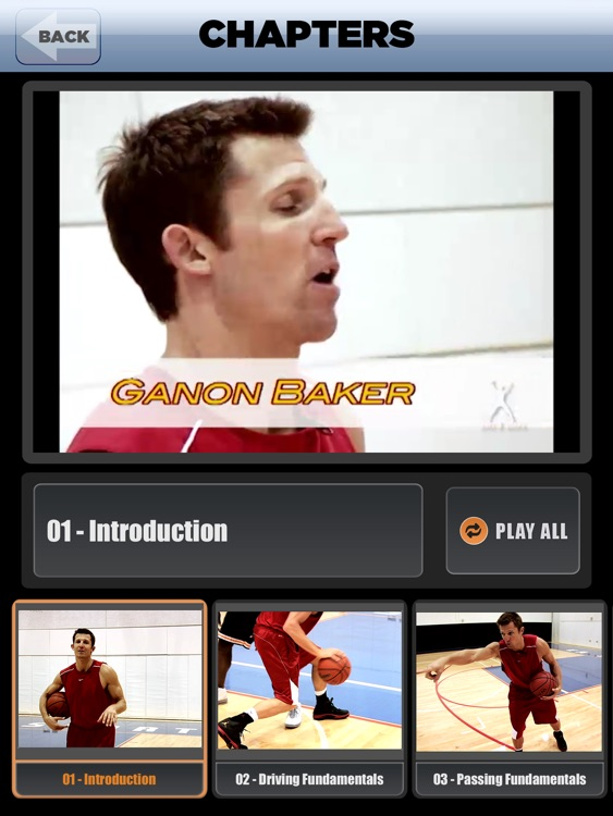 Dribble Triple Threat: Drive, Pass & Shoot - With Ganon Baker - Full Court Basketball Training Instruction - XL
