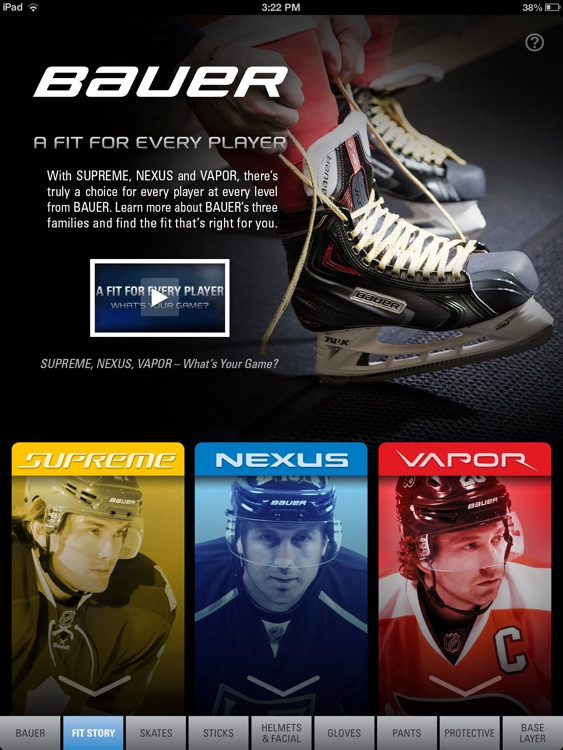 Bauer Gear Guide - English