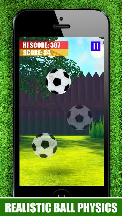 A Keepy Uppy 3D : Kick Ups - The Best Super Soccer Ball Juggling Football Skills Game 2014