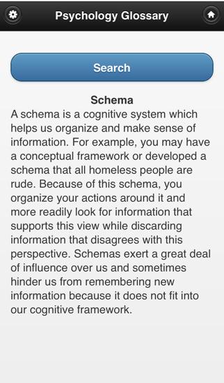 Psychology Glossary screenshot four