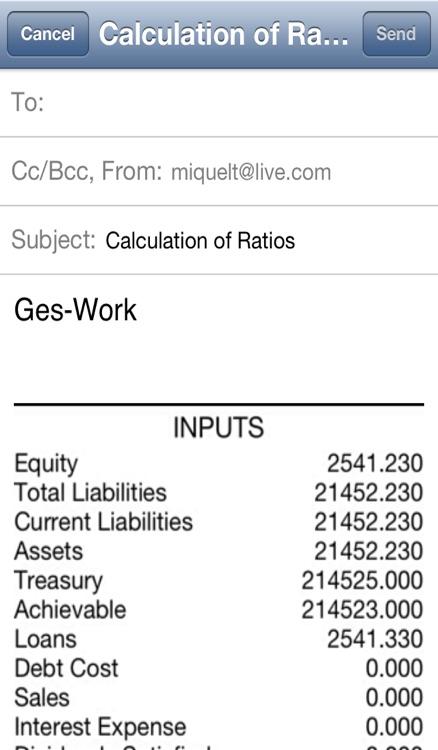 Ratios Calculator screenshot-3