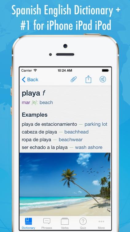 Spanish English Dictionary +