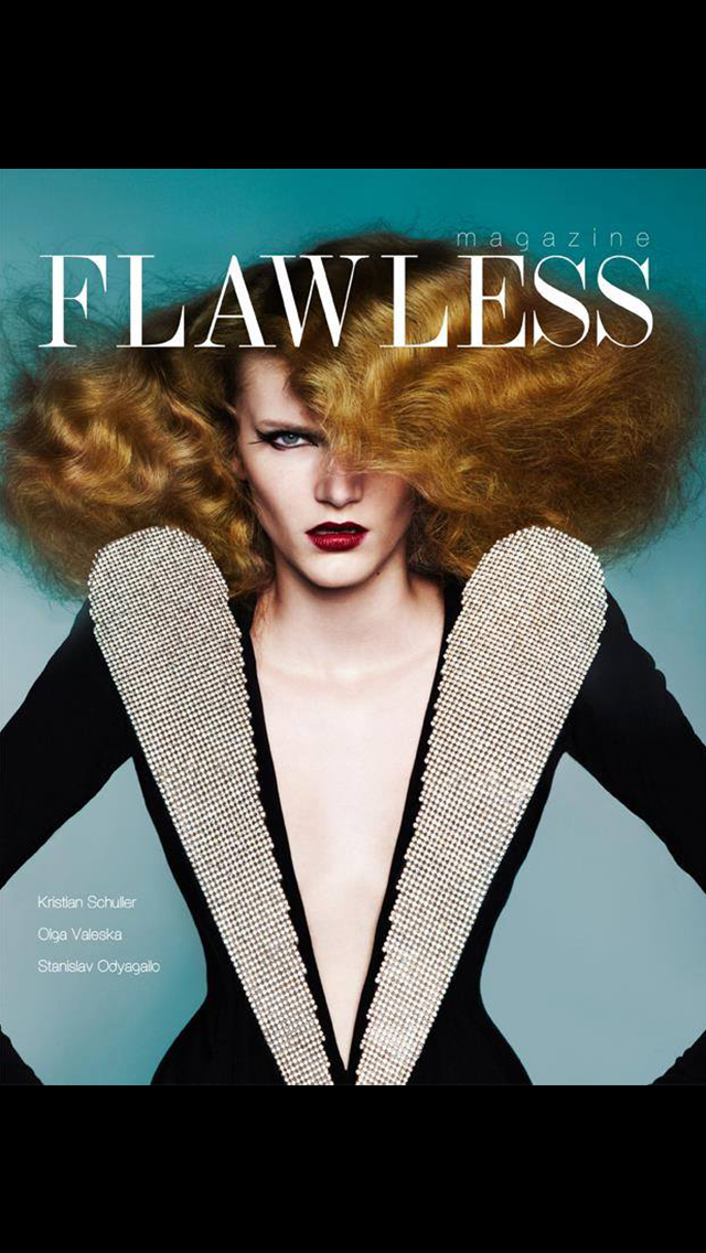 Flawless Magazine: International fashion magazine promoting creative artists in the industry screenshot one