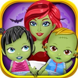 Monster Mommy's Newborn Pet Doctor - my new born baby salon & mom adventure game for kids
