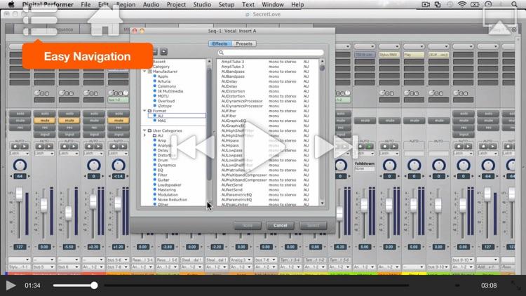 AV for Digital Performer 8 100 - What's New In DP8 screenshot-3