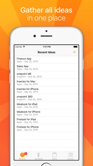 Ideabook Idea Innovation Management For Iphone 4