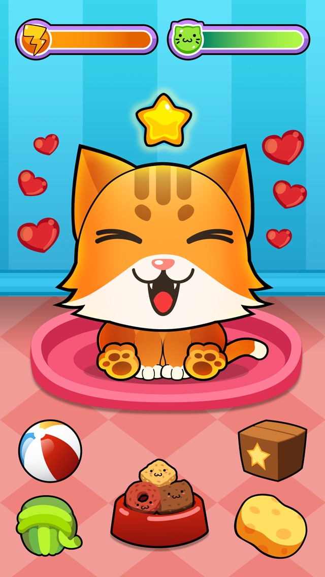 My Virtual Cat ~ Pet Kitty and Kittens Game for Kids, Boys and Girls Cheat Codes
