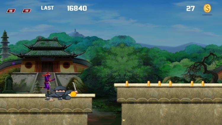 Amazing Ninja Revenge Run  - Free screenshot-4