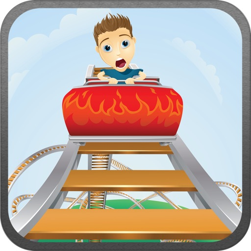 Awesome Roller Coaster Game By Fun Theme Park Frenzy Free