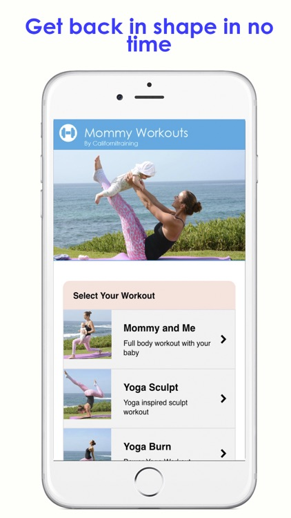Mommy Workouts screenshot-2