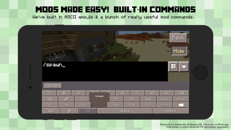 PE Servers - Custom Keyboard for Minecraft Pocket Edition