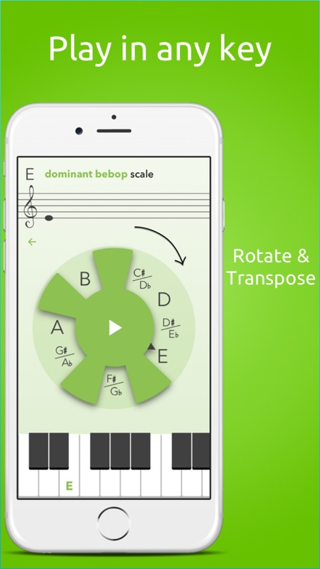 MusiClock - Scale trainer and improvisation practice tool for piano
