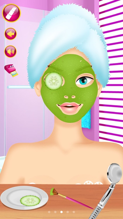 Princess Makeover - Girls Makeup & Dressup Games