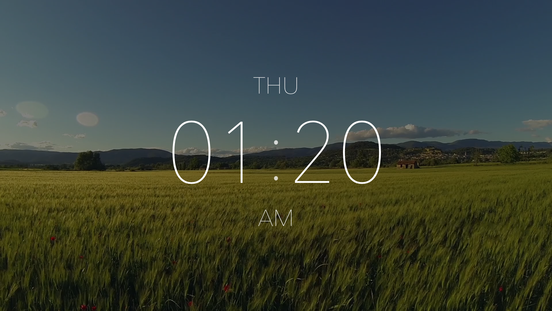 Ellie - A Beautiful TV Clock screenshot 2