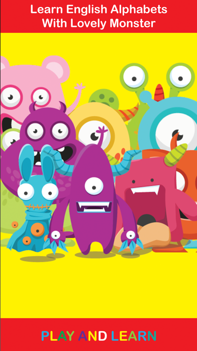 ABC Monster School write and read for toddlers homeschooling screenshot two