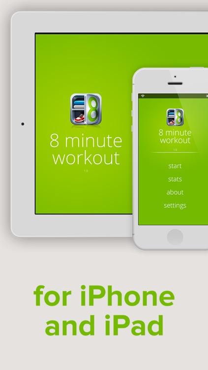 8 Minute Workout screenshot-3