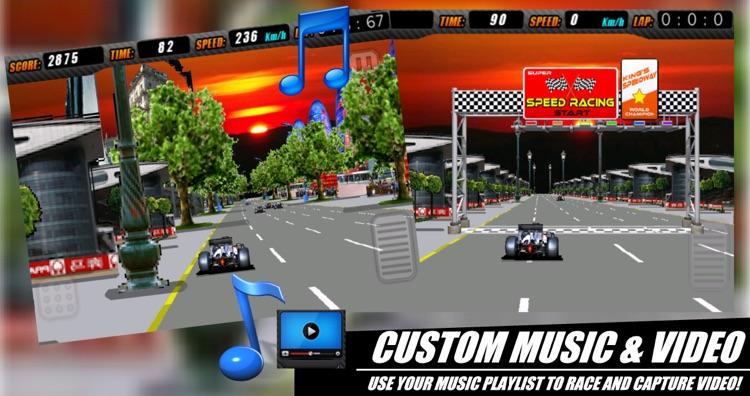 Adrenaline Rush - Real Uber Fun 3 D Formula One Arcade Adventure Race (Best Free Kids Racing Game!) - FREE screenshot-3