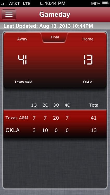 Oklahoma Football Live screenshot-4