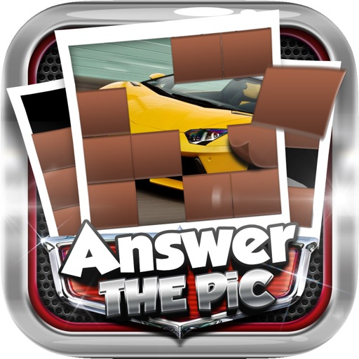 Answers The Pics : Supercar Trivia Pictures Puzzles Games
