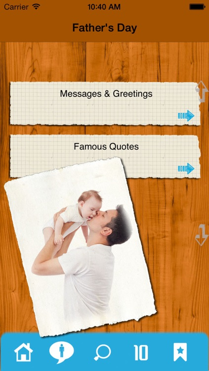 Father's Day - Greetings and Quotes